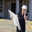Female Architect — Stock Photo
