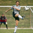 Stock Photo: Female Soccer Player