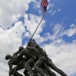 US Marine Corps War Memorial — Stock Photo #9383166