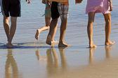 Kids On Beach — Stock Photo