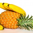 Pineapple and bananas. — Stock Photo #10482680