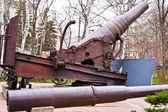 Russian odinnadtsatidyuymovaya gun model 1867. — Stock Photo
