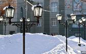 Street lights. — Stock Photo