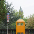 Stock Photo: Phone Booth in Luxembourg