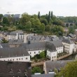 Panorama of Luxembourg — Stock Photo