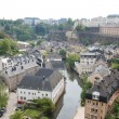 Luxembourg City. landscape — Stock Photo