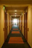 Corredor en el hotel — Foto de Stock