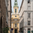 Church in downtown Vienna, Austria. — Stock Photo