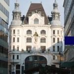 Church in downtown Vienna, Austria. — Stock Photo