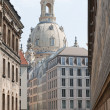 The historic center of Dresden — Stock Photo