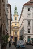 Kostel v centru města Vídeň, Rakousko. — Stock fotografie