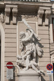 Statue in der burg hofburg. wien. österreich — Stockfoto