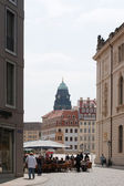 The old center of Dresden — Stock Photo