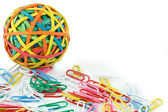 A ball of rubber bands — Stock Photo