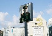 Checkpoint Charlie Berlin — Stock Photo