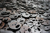 Schalechet Fallen Leaves Berlin — Stock Photo