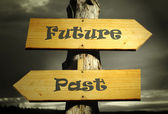 Past and Future — Stock Photo