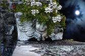 Bizarre Cherub vase — Stock Photo