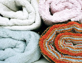 Towels Texture — Stock Photo