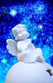 A sweet little Christmas Angel — Foto de Stock