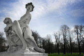 Statue in the Park — Stock Photo