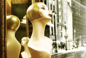 Mannequin head — Foto de Stock
