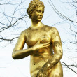Golden Classic Sculpture — Stock Photo