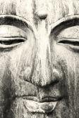 Buddha face — Stock Photo