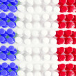 Stock Photo: French Flag Texture