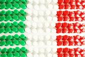 Trama di bandiera italiana — Foto Stock