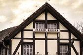 северных дом крыша — Стоковое фото