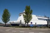 Cruise ship — Stok fotoğraf