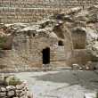 Place of the resurrection of Jesus Christ — Stock Photo