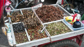 Thai insects food — Stock Photo