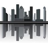 Houston skyline — Stock Vector