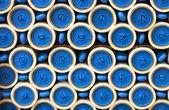 Cerchi blu sfondo — Foto Stock