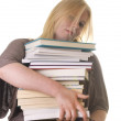 Student with books - 
