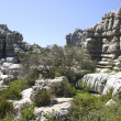 Stock Photo: Impressive karst landscape in Spain