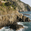 Stock Photo: Coastal road in Italy
