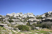 Impressive karst landscape in Spain — Stock Photo