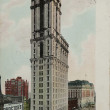 Times building in New York circa 1907 — Stock Photo