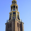 Churchtower of the 'der AA kerk' in Groningen city. - Stock Photo