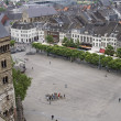 Aerial view on Maastricht - Stock Photo