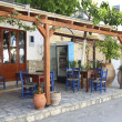 Typical Greek tavernin Crete — Stock Photo #8611701