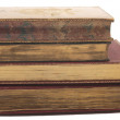 Stack of antique books — Stock Photo