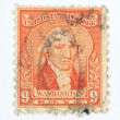 9 cents Washington postage stam[ — Stock Photo