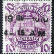 Vintage australian postage stamp of 1960 — Stock Photo