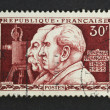 Brothers Lumiere on stamp — Stock Photo #8621325