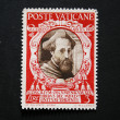 Stock Photo: Vintage Vaticpostage stamp