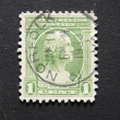 Vintage 1932  postage stamp with George Washington — Stock Photo